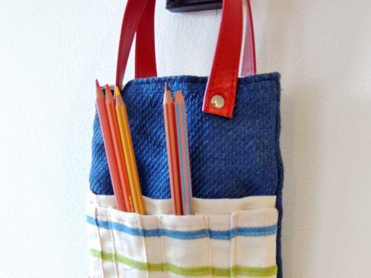 bolso portapinturas para niños