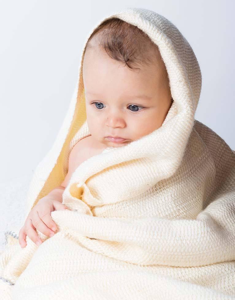 Manta de bebé que cuida del recién nacido